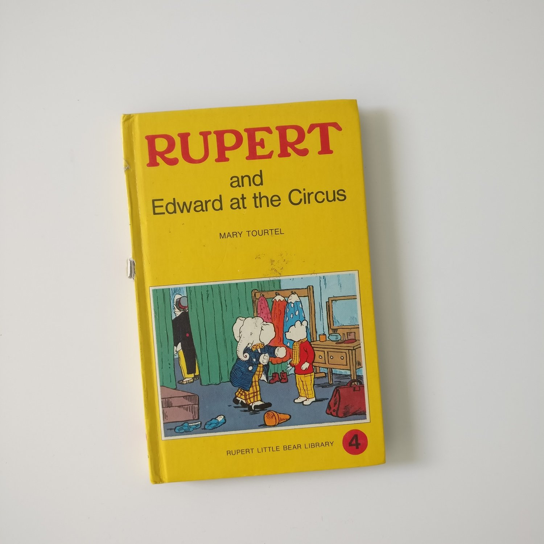 Rupert the Bear Notebook - and Edward at the Circus