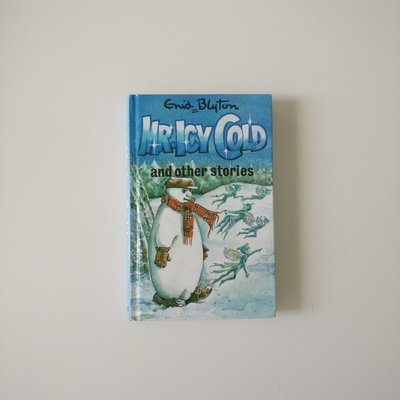 Mr Icy Cold Notebook Enid Blyton - Snowman