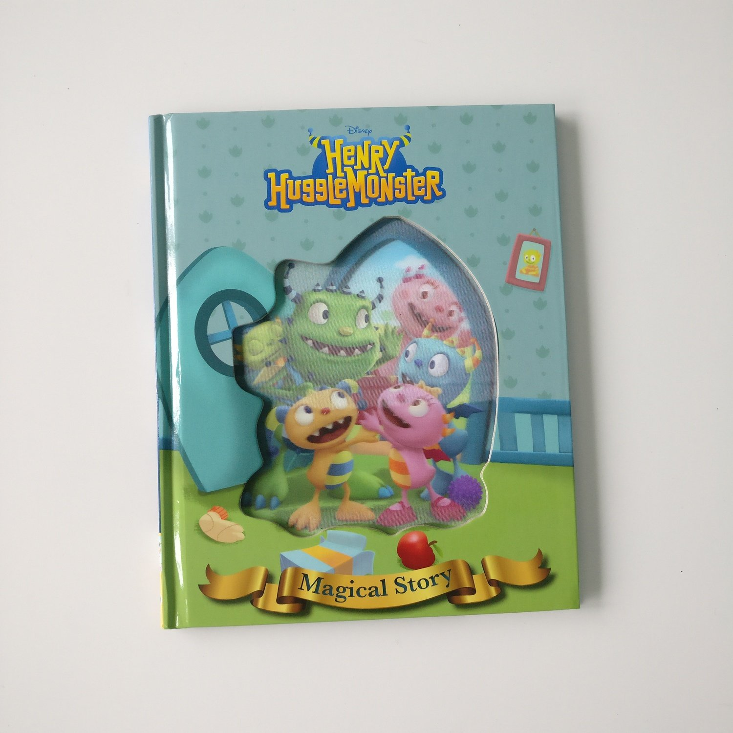 Henry Huggle Monster Notebook - Lenticular Print
