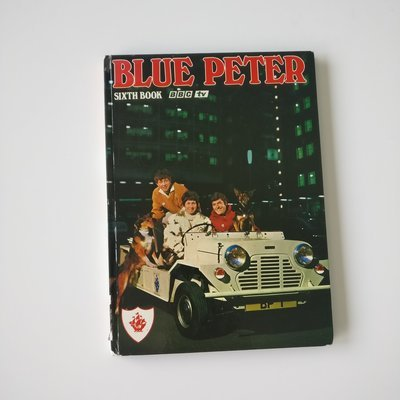 Blue Peter Notebook  - Mini Moke - Peter, Valerie and John 1967 - 1972