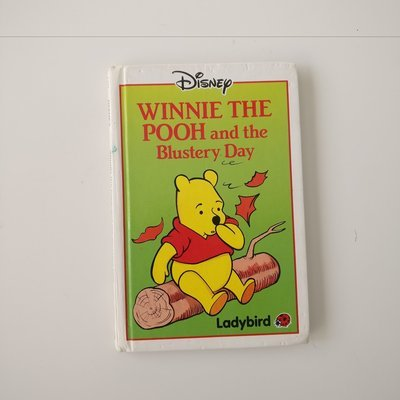 Winnie the Pooh Notebook - and the Blustery Day