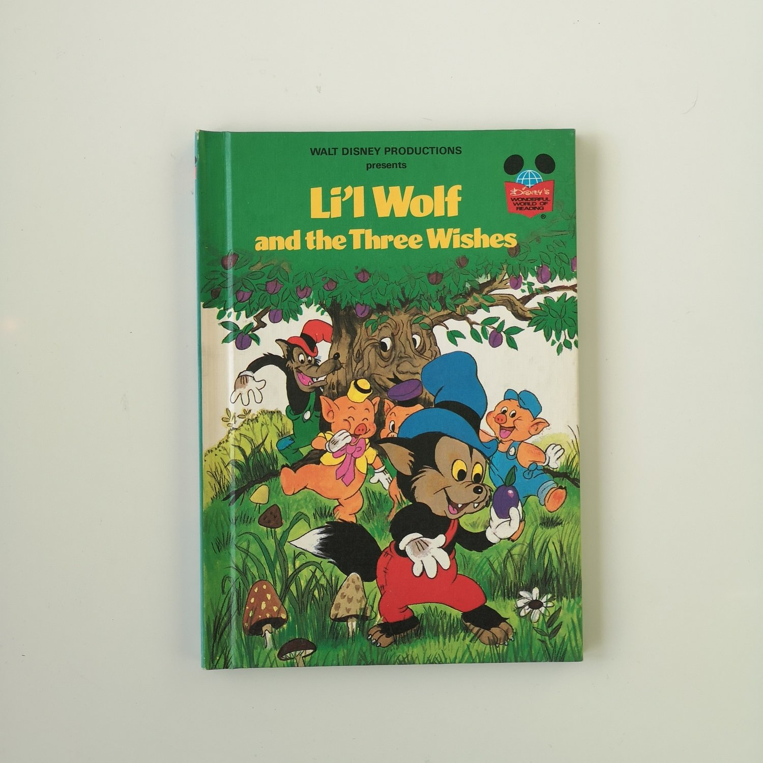 Lil Wolf and the Three Wishes Notebook