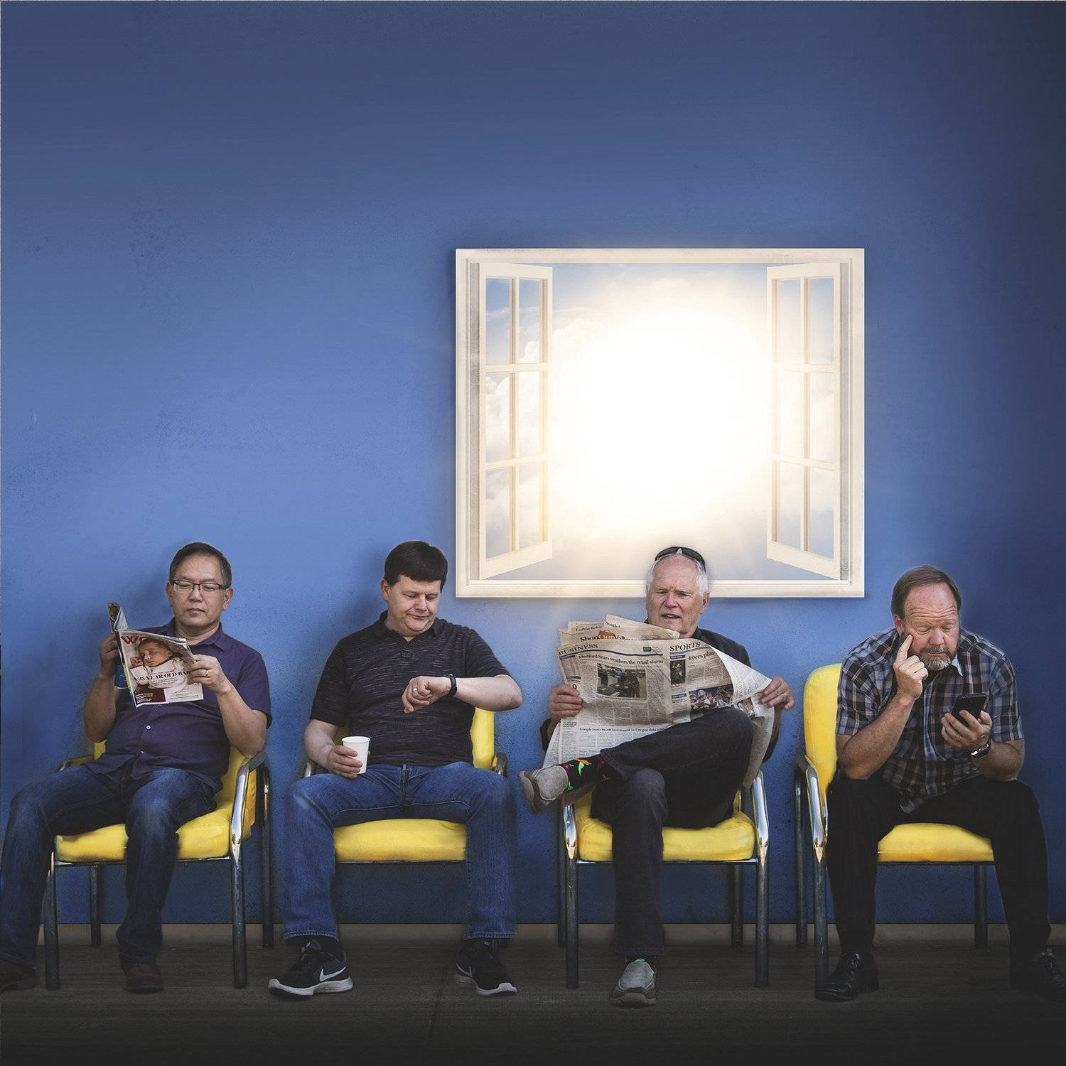 """The Dad's Band Project CD """"Waiting Room"""""""