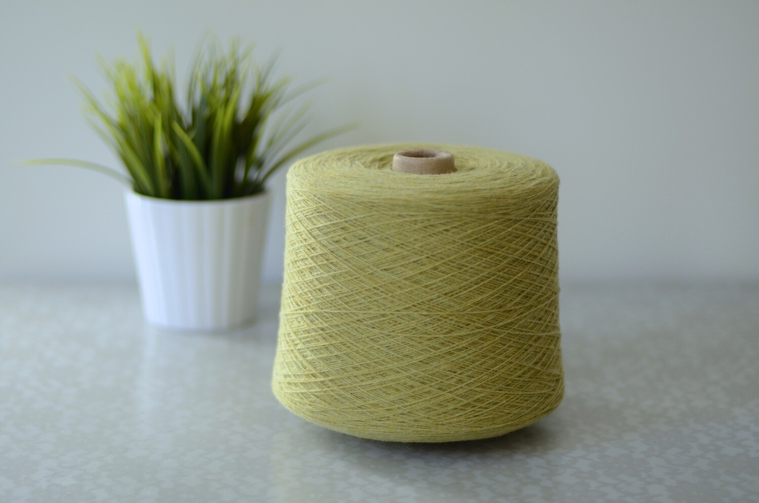 WarmWoolGallery Lambswool - CITRUS