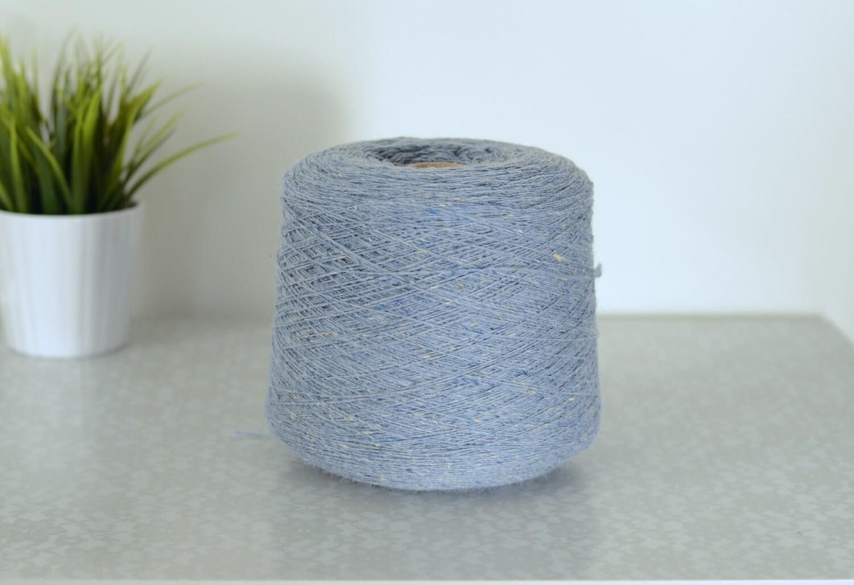 WarmWoolGallery Tweed Mohair - SKY MIST