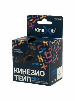 К-тейп Kinexib Pro, 5см×5м, черный