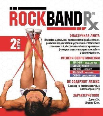 RockTape. Эластичная лента RockBandRx 2м