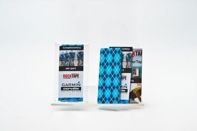 RockTape Power Strip (50см) Синий узор