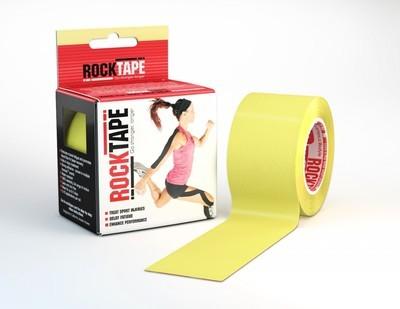 Кинезиотейп RockTape (5см×5м) желтый