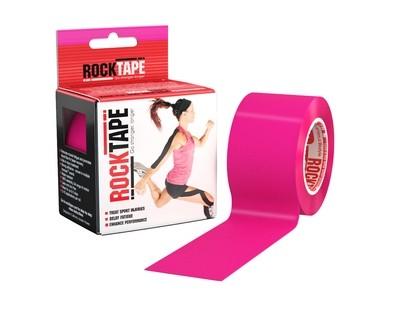 Кинезиотейп RockTape (5см×5м) розовый