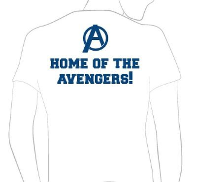 Home of the Avengers T-Shirt