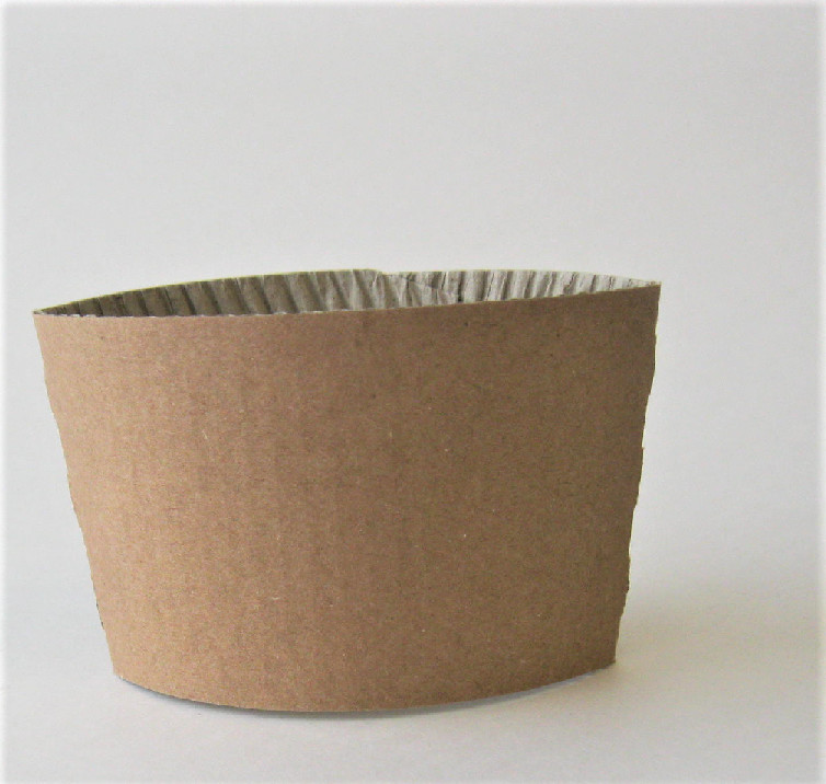 10-20oz Hot Cup Sleeve Brown 1,000 per case