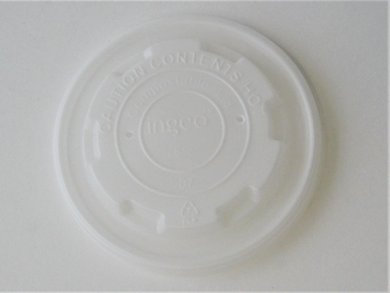 8oz Soup Cup Flat Lid - 1000/case