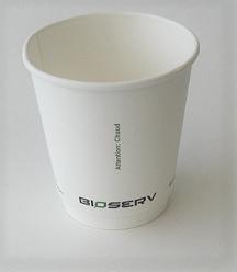 10oz Air Gap Double Wall Bioserv - 500/case