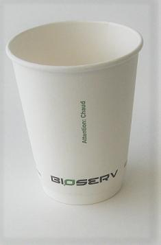 12oz Air Gap Double Wall Bioserv - 500/case