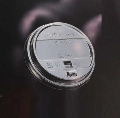 96mm Flat/Dome Cold Cup Lid W/Sip Tab - 1,000/case