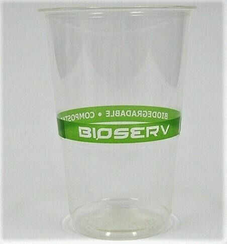 24oz Green Label PLA Cold Cup - 1,000/case