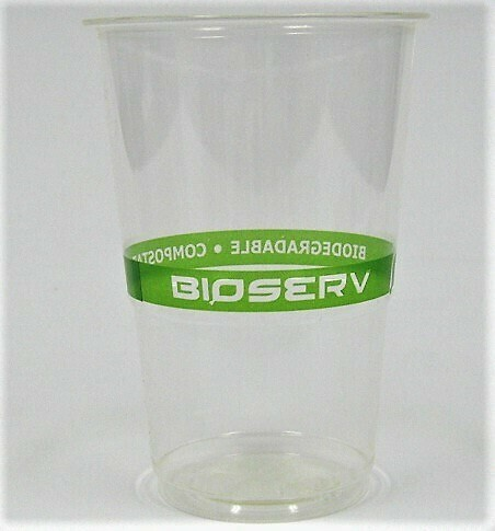 9oz Green Label PLA Tall Cold Cup - 1,000/case
