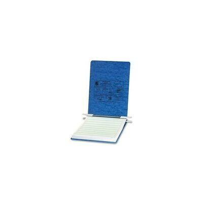 "Acco Presstex Hanging Data Binder, Post Fastener, 8-1/2"" x 11"", 6"", Light Blue"