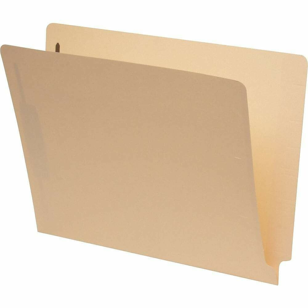 Pendaflex End-Tab Folders with #1 and 3 Fastener Position, Legal Size
