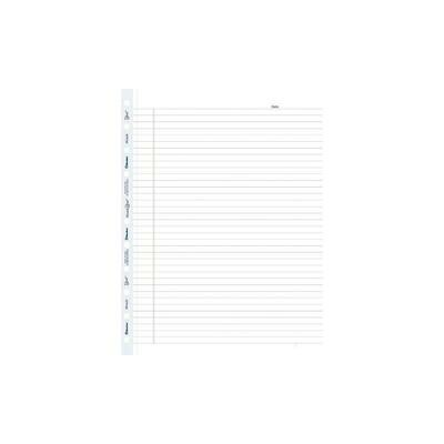 """Blueline MiracleBind Refills, Ruled, 11"""" x 8-1/2"""", 50 Sheets"""