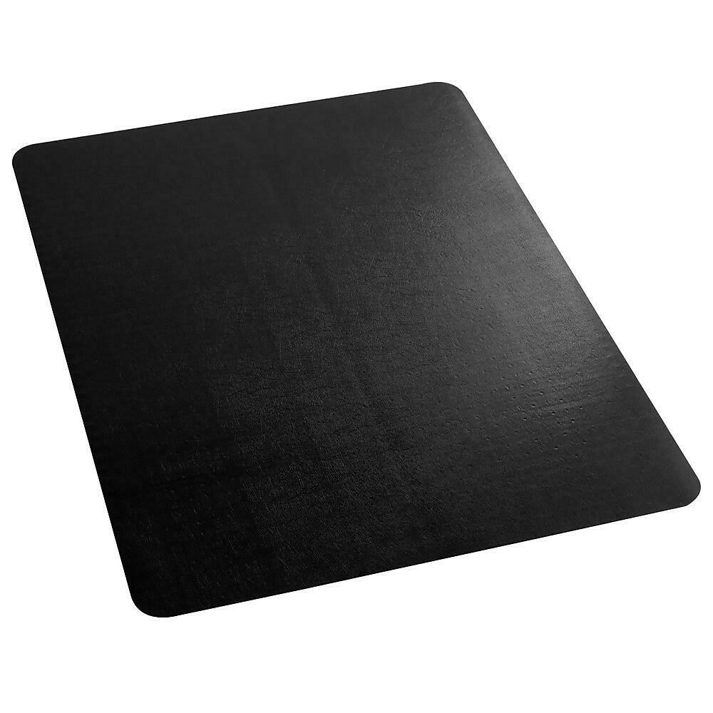 "ES Robbins Low Pile Carpet Chair Mat, 36"" x 48"", Black"