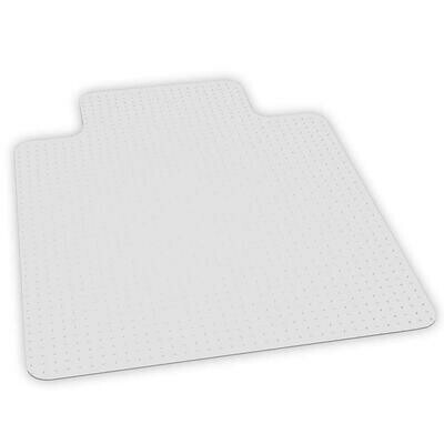 """ES Robbins Big and Tall Chair Mat with Lip, 45"""" x 53"""", Clear"""