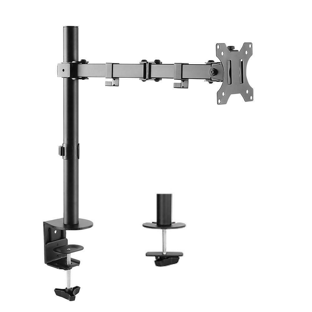 "Uplite up to 32"" Single Monitor Desk Mount Fully Adjustable Articulating Stand , Black"