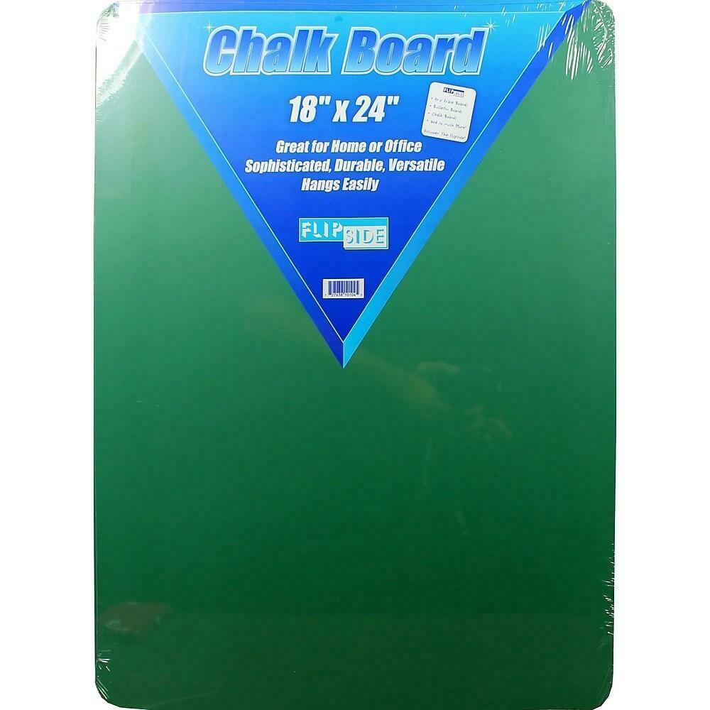 """Flipside Chalk Board, 18"""" x 24"""", Green"""