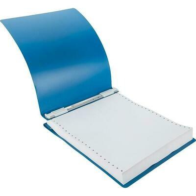 "Acco Poly Data Binder, 9-1/2"" x 11"", Blue"