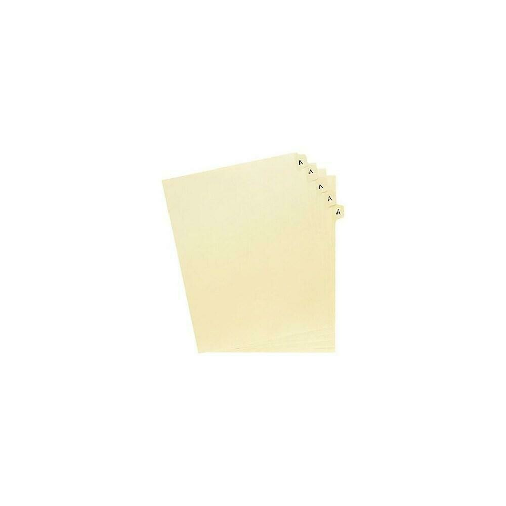 """Oxford Legal Trade Exhibit Index Tab Dividers, """"A"""", 25-Pack"""
