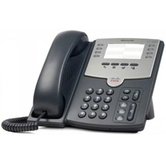 Cisco SPA-501G 8-line IP Phone (missing paper insert)
