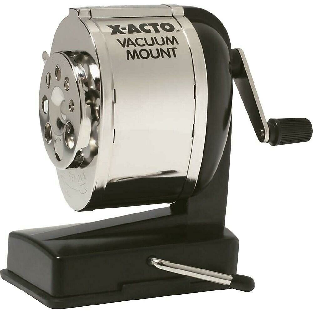 X-ACTO Manual Vacuum Mount Pencil Sharpener