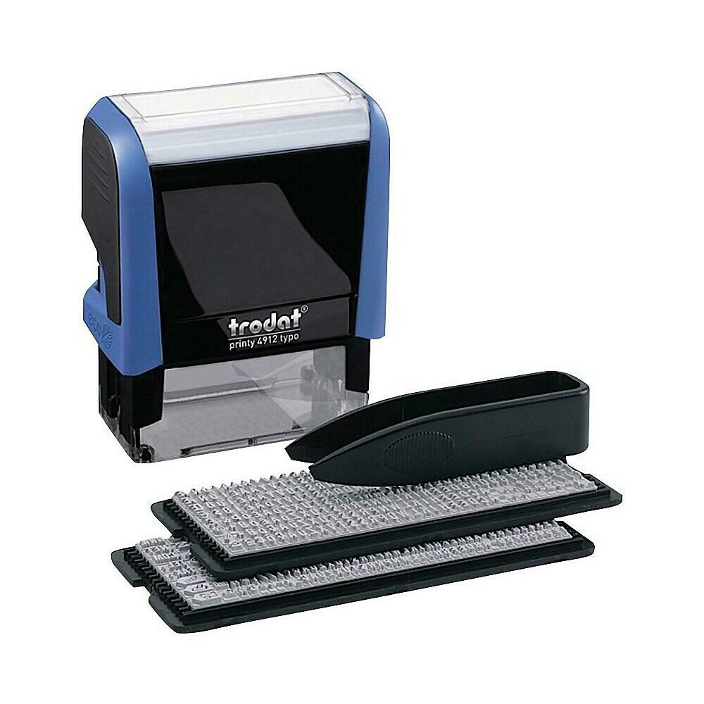 Trodat Do-It-Yourself Printy 4913 Climate-Neutral Self-Inking Stamping Kit, 5-Line
