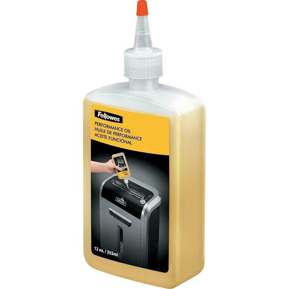 Fellowes Powershred Shredder Oil & Lubricant, 12 oz