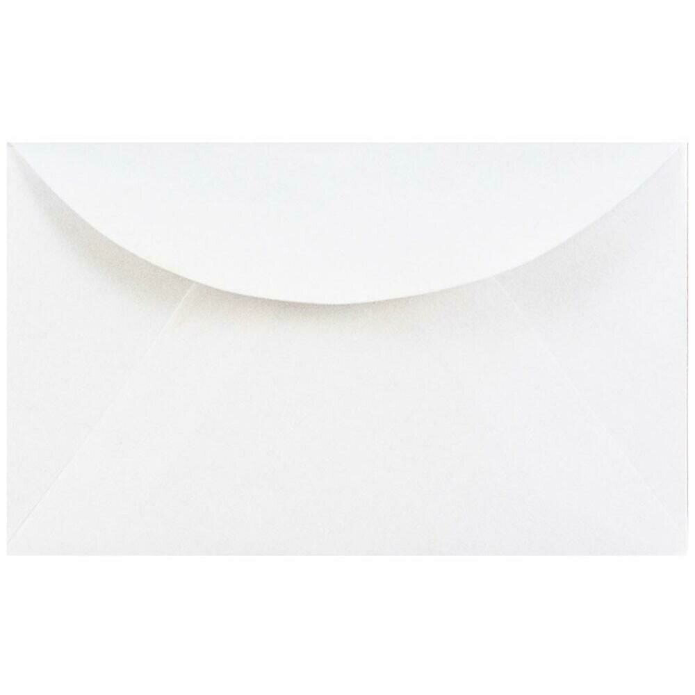 JAM Paper 3drug Mini Small Envelopes, 2 5/16 x 3.63, White - 50/pack