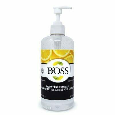 Bioss Hand Sanitizer 500ml bottle with pump