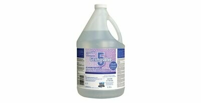 Germosolve 5 Ready-to-use, All-in-one, Disinfectant, Deodorizer, and All Purpose Cleaner - 3.78L Natural (Unscented)