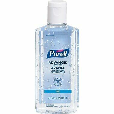 Purell Advanced Hand Sanitizer with Flip Top - 4oz/118ml