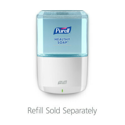 PURELL ES8 Touch-Free Soap Dispenser with 1 case of Soap - 2 refills x 1.2L