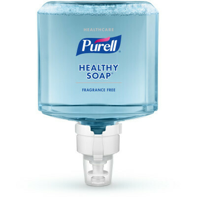 PURELL® Healthcare HEALTHY SOAP® Gentle & Free Foam 1200 mL Refill for PURELL® ES8 Touch-Free Soap Dispensers - 2/pack