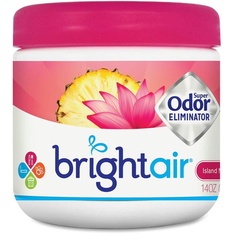 Bright Air Super Odor Eliminator Air Freshener Island Nectar/Pineapple