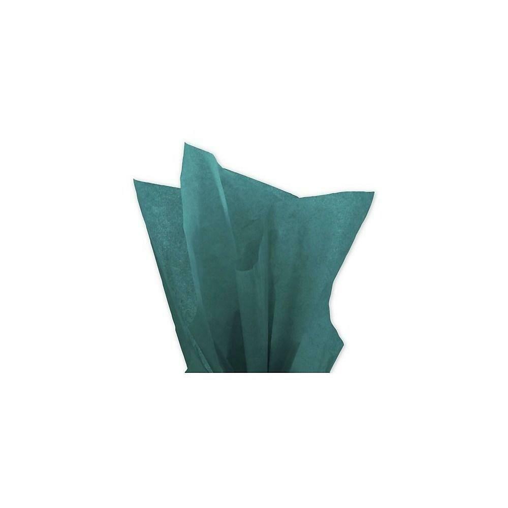 """Bags & Bows Solid Tissue Paper, 20"""" x 30"""", Teal, 480 Pack"""
