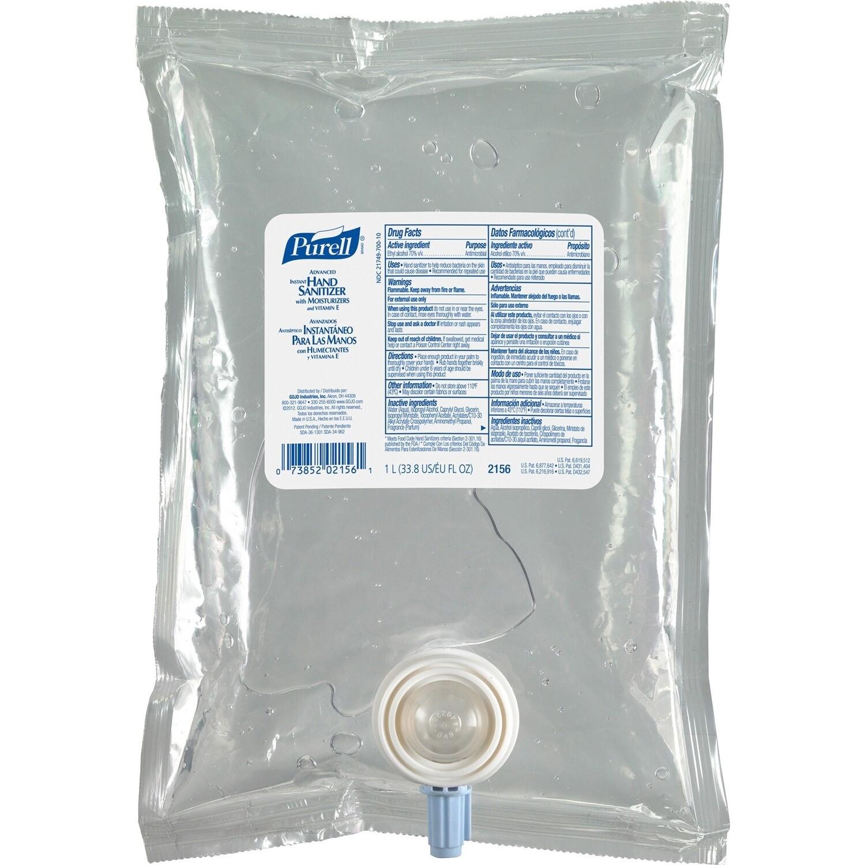 PURELL® Sanitizing Gel Refill - Original Scent - 1 L