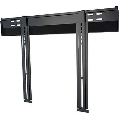 "Peerless-AV® SUF650P Universal Ultra Slim Flat Wall Mount For Flat Panel Displays, 32"" - 56"", Black"