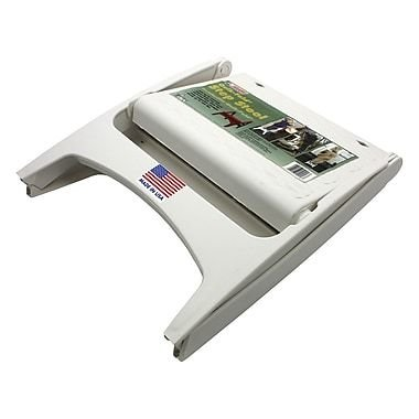 Adams Quik Fold Step Stool, White