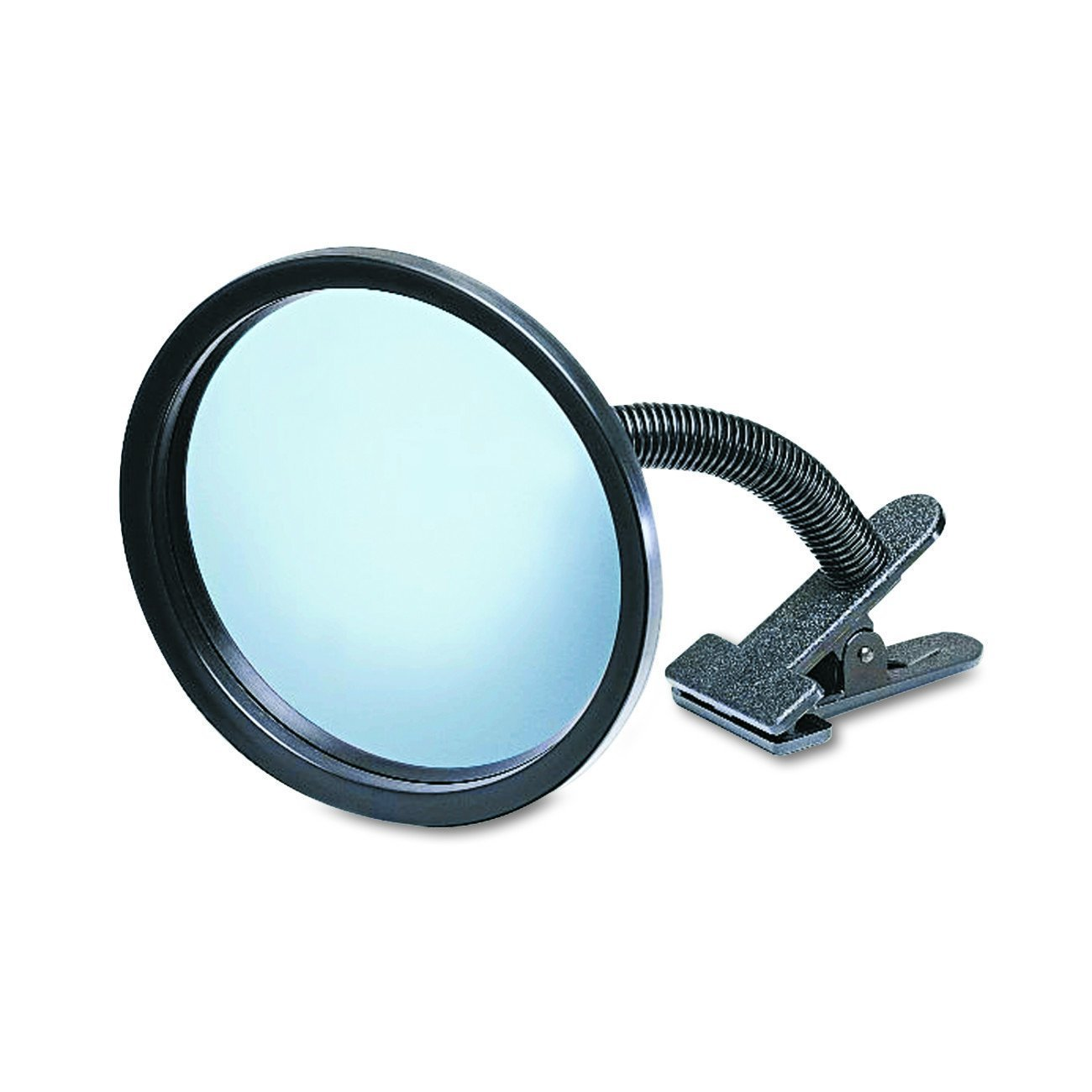 "See All ICU7 Personal Safety and Security Clip-On Convex Security Mirror, 7"" Diameter"