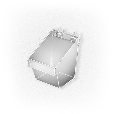 "Azar Displays Small Display Bucket, 7"" x 5"" x 7"" , 4/Pack"