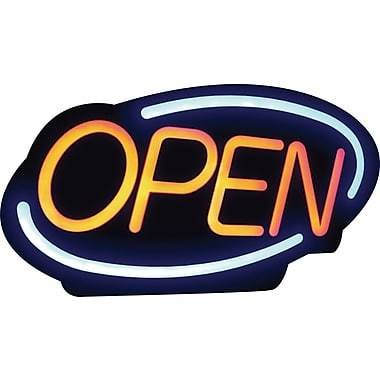 Royal Sovereign LED Open Sign, English