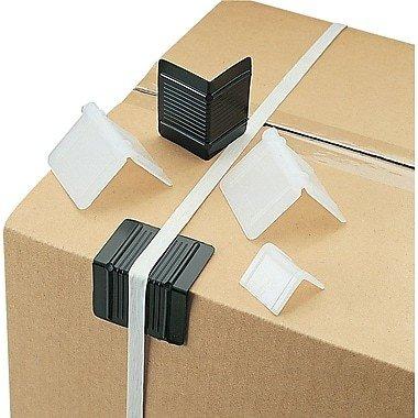 """Plastic Edge Protectors, 2-1/2 x 2"""" - 1,000/box"""